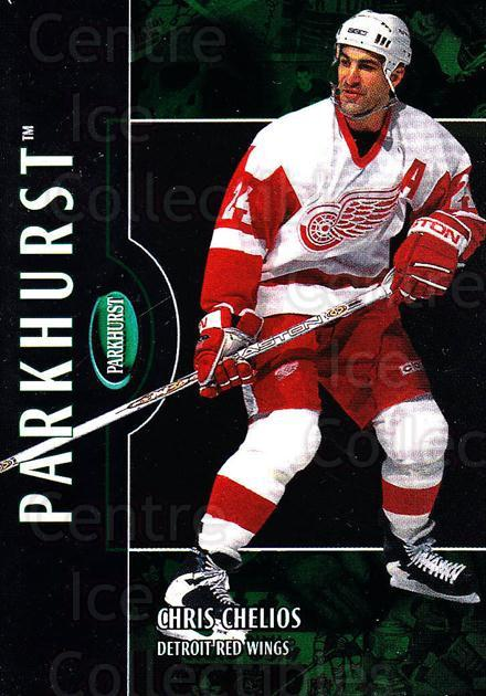 2002-03 Parkhurst #54 Chris Chelios<br/>1 In Stock - $1.00 each - <a href=https://centericecollectibles.foxycart.com/cart?name=2002-03%20Parkhurst%20%2354%20Chris%20Chelios...&quantity_max=1&price=$1.00&code=199073 class=foxycart> Buy it now! </a>