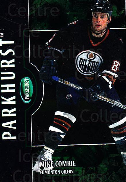 2002-03 Parkhurst #56 Mike Comrie<br/>5 In Stock - $1.00 each - <a href=https://centericecollectibles.foxycart.com/cart?name=2002-03%20Parkhurst%20%2356%20Mike%20Comrie...&quantity_max=5&price=$1.00&code=199075 class=foxycart> Buy it now! </a>