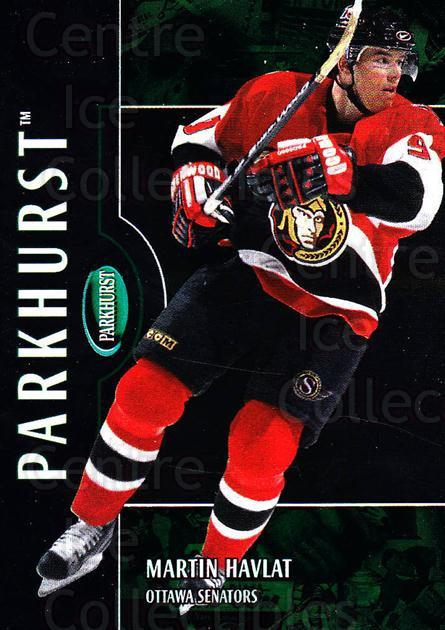2002-03 Parkhurst #59 Martin Havlat<br/>2 In Stock - $1.00 each - <a href=https://centericecollectibles.foxycart.com/cart?name=2002-03%20Parkhurst%20%2359%20Martin%20Havlat...&quantity_max=2&price=$1.00&code=199078 class=foxycart> Buy it now! </a>