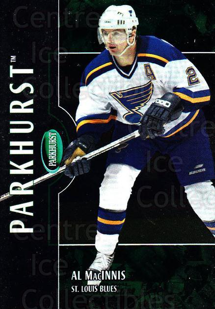 2002-03 Parkhurst #6 Al MacInnis<br/>5 In Stock - $1.00 each - <a href=https://centericecollectibles.foxycart.com/cart?name=2002-03%20Parkhurst%20%236%20Al%20MacInnis...&quantity_max=5&price=$1.00&code=199079 class=foxycart> Buy it now! </a>