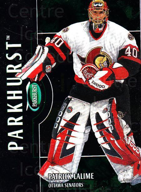 2002-03 Parkhurst #8 Patrick Lalime<br/>1 In Stock - $1.00 each - <a href=https://centericecollectibles.foxycart.com/cart?name=2002-03%20Parkhurst%20%238%20Patrick%20Lalime...&quantity_max=1&price=$1.00&code=199097 class=foxycart> Buy it now! </a>