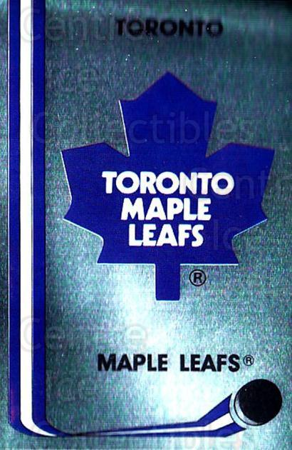 1989-90 Panini Stickers #131 Toronto Maple Leafs<br/>2 In Stock - $1.00 each - <a href=https://centericecollectibles.foxycart.com/cart?name=1989-90%20Panini%20Stickers%20%23131%20Toronto%20Maple%20L...&quantity_max=2&price=$1.00&code=19909 class=foxycart> Buy it now! </a>