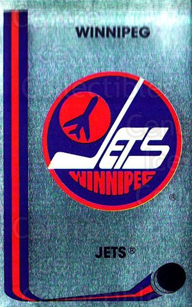 1989-90 Panini Stickers #161 Winnipeg Jets<br/>2 In Stock - $1.00 each - <a href=https://centericecollectibles.foxycart.com/cart?name=1989-90%20Panini%20Stickers%20%23161%20Winnipeg%20Jets...&quantity_max=2&price=$1.00&code=19942 class=foxycart> Buy it now! </a>