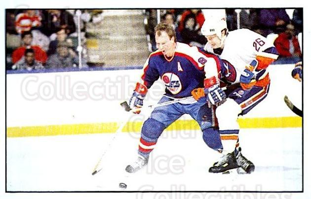 1989-90 Panini Stickers #166 Randy Carlyle, Pat Flatley<br/>2 In Stock - $1.00 each - <a href=https://centericecollectibles.foxycart.com/cart?name=1989-90%20Panini%20Stickers%20%23166%20Randy%20Carlyle,%20...&quantity_max=2&price=$1.00&code=19946 class=foxycart> Buy it now! </a>