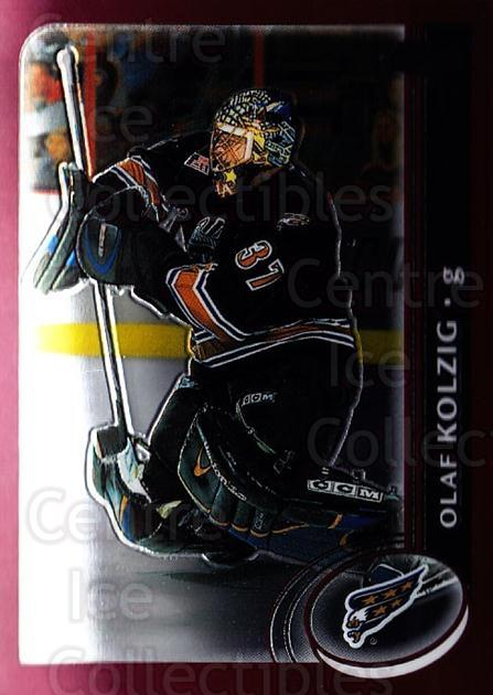 2002-03 Topps Chrome #95 Olaf Kolzig<br/>2 In Stock - $1.00 each - <a href=https://centericecollectibles.foxycart.com/cart?name=2002-03%20Topps%20Chrome%20%2395%20Olaf%20Kolzig...&quantity_max=2&price=$1.00&code=199546 class=foxycart> Buy it now! </a>
