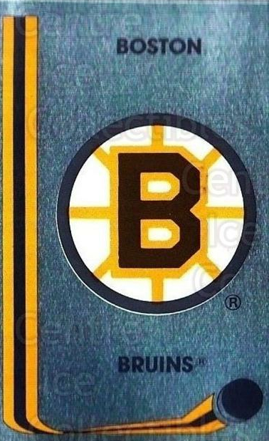 1989-90 Panini Stickers #188 Boston Bruins<br/>3 In Stock - $1.00 each - <a href=https://centericecollectibles.foxycart.com/cart?name=1989-90%20Panini%20Stickers%20%23188%20Boston%20Bruins...&quantity_max=3&price=$1.00&code=19964 class=foxycart> Buy it now! </a>