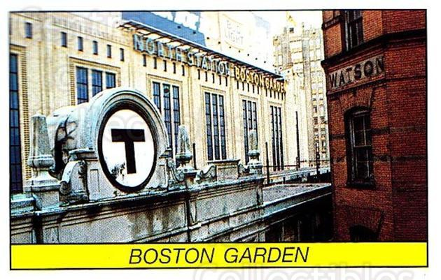 1989-90 Panini Stickers #202 Boston Garden<br/>1 In Stock - $1.00 each - <a href=https://centericecollectibles.foxycart.com/cart?name=1989-90%20Panini%20Stickers%20%23202%20Boston%20Garden...&quantity_max=1&price=$1.00&code=19981 class=foxycart> Buy it now! </a>