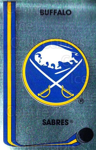 1989-90 Panini Stickers #203 Buffalo Sabres<br/>2 In Stock - $1.00 each - <a href=https://centericecollectibles.foxycart.com/cart?name=1989-90%20Panini%20Stickers%20%23203%20Buffalo%20Sabres...&quantity_max=2&price=$1.00&code=19982 class=foxycart> Buy it now! </a>
