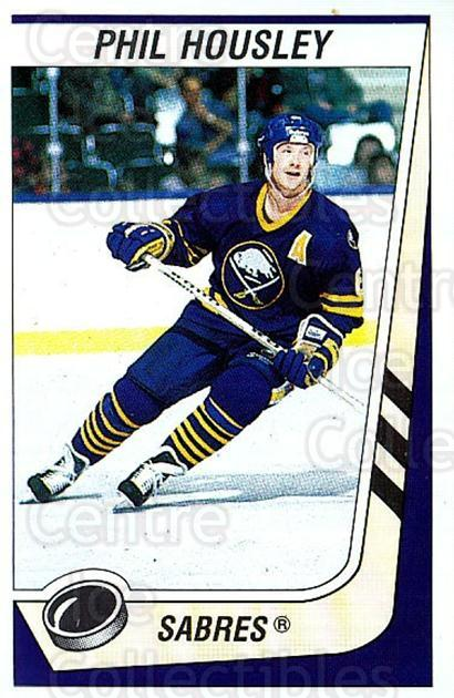 1989-90 Panini Stickers #205 Phil Housley<br/>3 In Stock - $1.00 each - <a href=https://centericecollectibles.foxycart.com/cart?name=1989-90%20Panini%20Stickers%20%23205%20Phil%20Housley...&quantity_max=3&price=$1.00&code=19984 class=foxycart> Buy it now! </a>