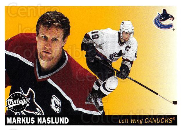 2002-03 UD Vintage #246 Markus Naslund<br/>8 In Stock - $1.00 each - <a href=https://centericecollectibles.foxycart.com/cart?name=2002-03%20UD%20Vintage%20%23246%20Markus%20Naslund...&quantity_max=8&price=$1.00&code=199884 class=foxycart> Buy it now! </a>