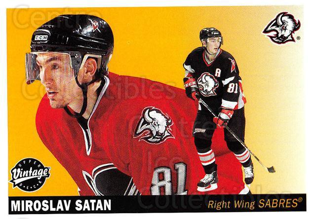 2002-03 UD Vintage #29 Miroslav Satan<br/>11 In Stock - $1.00 each - <a href=https://centericecollectibles.foxycart.com/cart?name=2002-03%20UD%20Vintage%20%2329%20Miroslav%20Satan...&quantity_max=11&price=$1.00&code=199902 class=foxycart> Buy it now! </a>
