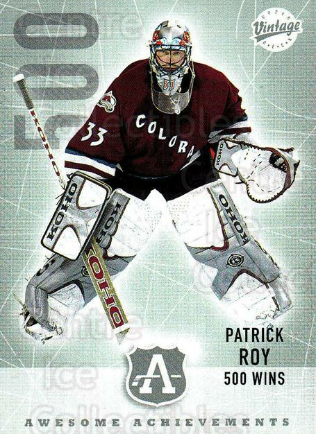 2002-03 UD Vintage #292 Patrick Roy<br/>1 In Stock - $3.00 each - <a href=https://centericecollectibles.foxycart.com/cart?name=2002-03%20UD%20Vintage%20%23292%20Patrick%20Roy...&quantity_max=1&price=$3.00&code=199904 class=foxycart> Buy it now! </a>