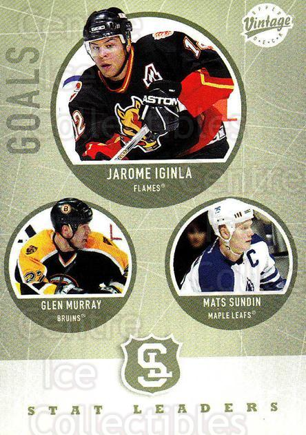 2002-03 UD Vintage #306 Glen Murray, Jarome Iginla, Mats Sundin<br/>13 In Stock - $2.00 each - <a href=https://centericecollectibles.foxycart.com/cart?name=2002-03%20UD%20Vintage%20%23306%20Glen%20Murray,%20Ja...&quantity_max=13&price=$2.00&code=199918 class=foxycart> Buy it now! </a>