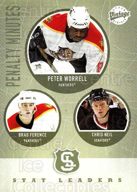 2002-03 UD Vintage #313 Peter Worrell, Brad Ference, Chris Neil<br/>6 In Stock - $2.00 each - <a href=https://centericecollectibles.foxycart.com/cart?name=2002-03%20UD%20Vintage%20%23313%20Peter%20Worrell,%20...&quantity_max=6&price=$2.00&code=199926 class=foxycart> Buy it now! </a>