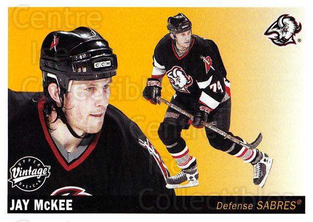2002-03 UD Vintage #32 Jay McKee<br/>9 In Stock - $1.00 each - <a href=https://centericecollectibles.foxycart.com/cart?name=2002-03%20UD%20Vintage%20%2332%20Jay%20McKee...&quantity_max=9&price=$1.00&code=199931 class=foxycart> Buy it now! </a>