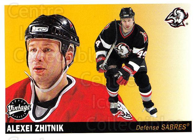 2002-03 UD Vintage #35 Alexei Zhitnik<br/>9 In Stock - $1.00 each - <a href=https://centericecollectibles.foxycart.com/cart?name=2002-03%20UD%20Vintage%20%2335%20Alexei%20Zhitnik...&quantity_max=9&price=$1.00&code=199963 class=foxycart> Buy it now! </a>