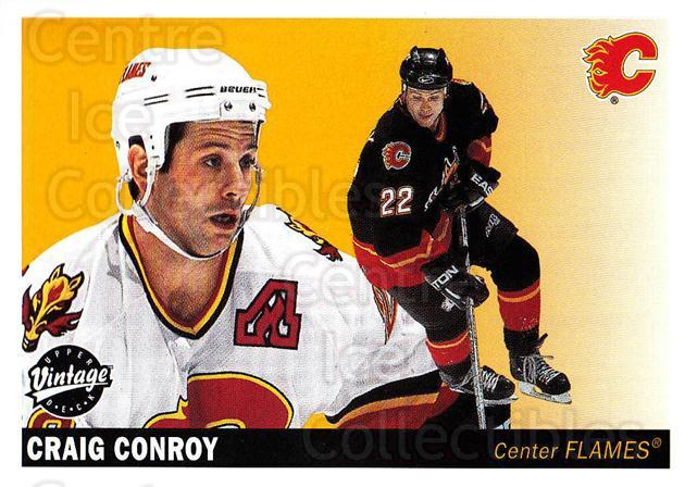 2002-03 UD Vintage #43 Craig Conroy<br/>7 In Stock - $1.00 each - <a href=https://centericecollectibles.foxycart.com/cart?name=2002-03%20UD%20Vintage%20%2343%20Craig%20Conroy...&quantity_max=7&price=$1.00&code=199972 class=foxycart> Buy it now! </a>