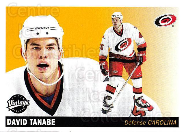 2002-03 UD Vintage #51 David Tanabe<br/>7 In Stock - $1.00 each - <a href=https://centericecollectibles.foxycart.com/cart?name=2002-03%20UD%20Vintage%20%2351%20David%20Tanabe...&quantity_max=7&price=$1.00&code=199981 class=foxycart> Buy it now! </a>