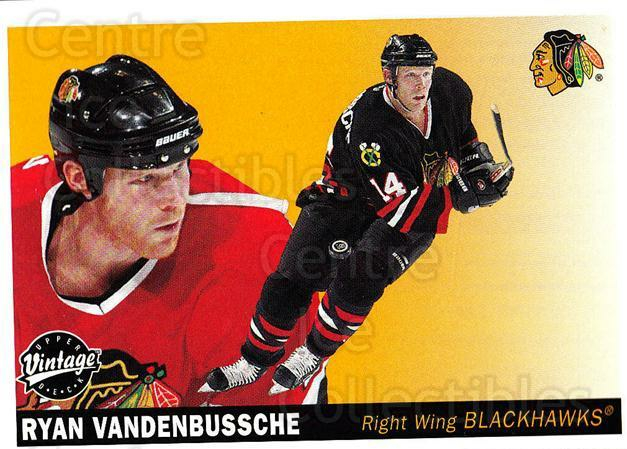 2002-03 UD Vintage #54 Ryan VandenBussche<br/>1 In Stock - $1.00 each - <a href=https://centericecollectibles.foxycart.com/cart?name=2002-03%20UD%20Vintage%20%2354%20Ryan%20VandenBuss...&quantity_max=1&price=$1.00&code=199984 class=foxycart> Buy it now! </a>