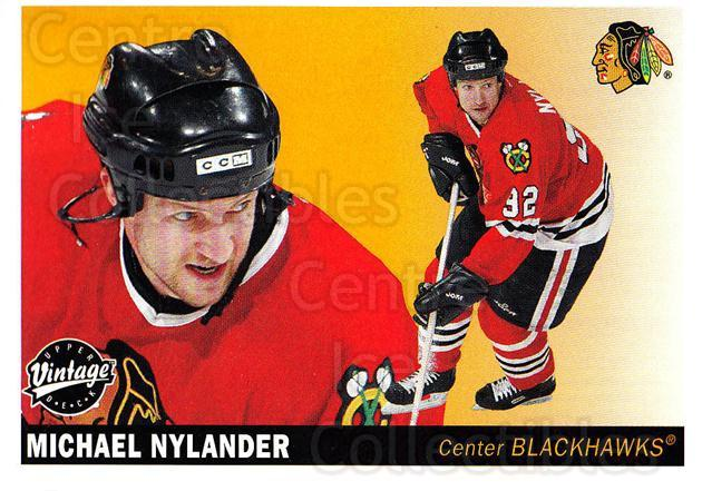 2002-03 UD Vintage #55 Michael Nylander<br/>10 In Stock - $1.00 each - <a href=https://centericecollectibles.foxycart.com/cart?name=2002-03%20UD%20Vintage%20%2355%20Michael%20Nylande...&quantity_max=10&price=$1.00&code=199985 class=foxycart> Buy it now! </a>