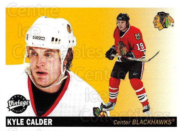 2002-03 UD Vintage #57 Kyle Calder<br/>7 In Stock - $1.00 each - <a href=https://centericecollectibles.foxycart.com/cart?name=2002-03%20UD%20Vintage%20%2357%20Kyle%20Calder...&quantity_max=7&price=$1.00&code=199987 class=foxycart> Buy it now! </a>