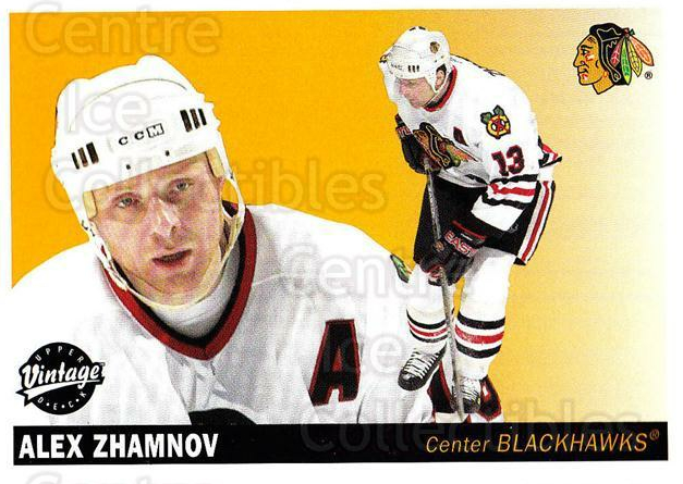 2002-03 UD Vintage #60 Alexei Zhamnov<br/>8 In Stock - $1.00 each - <a href=https://centericecollectibles.foxycart.com/cart?name=2002-03%20UD%20Vintage%20%2360%20Alexei%20Zhamnov...&quantity_max=8&price=$1.00&code=199991 class=foxycart> Buy it now! </a>