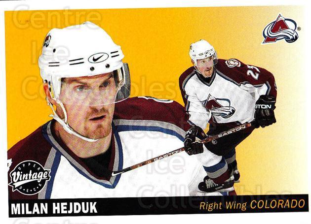 2002-03 UD Vintage #66 Milan Hejduk<br/>7 In Stock - $1.00 each - <a href=https://centericecollectibles.foxycart.com/cart?name=2002-03%20UD%20Vintage%20%2366%20Milan%20Hejduk...&quantity_max=7&price=$1.00&code=199996 class=foxycart> Buy it now! </a>