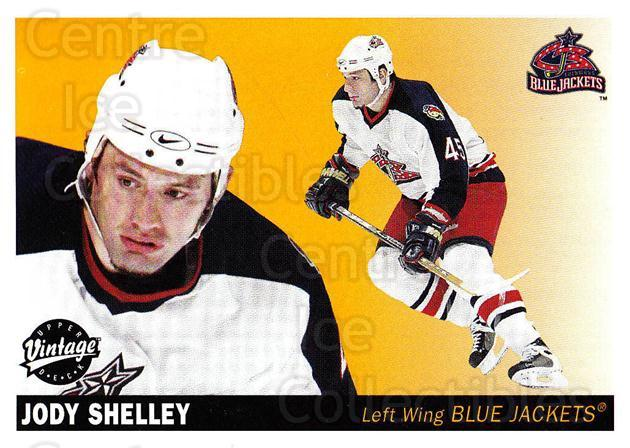 2002-03 UD Vintage #76 Jody Shelley<br/>6 In Stock - $1.00 each - <a href=https://centericecollectibles.foxycart.com/cart?name=2002-03%20UD%20Vintage%20%2376%20Jody%20Shelley...&quantity_max=6&price=$1.00&code=200006 class=foxycart> Buy it now! </a>