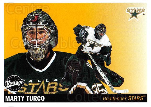 2002-03 UD Vintage #82 Marty Turco<br/>9 In Stock - $1.00 each - <a href=https://centericecollectibles.foxycart.com/cart?name=2002-03%20UD%20Vintage%20%2382%20Marty%20Turco...&quantity_max=9&price=$1.00&code=200012 class=foxycart> Buy it now! </a>