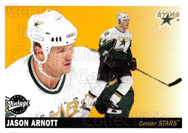 2002-03 UD Vintage #85 Jason Arnott<br/>9 In Stock - $1.00 each - <a href=https://centericecollectibles.foxycart.com/cart?name=2002-03%20UD%20Vintage%20%2385%20Jason%20Arnott...&quantity_max=9&price=$1.00&code=200015 class=foxycart> Buy it now! </a>
