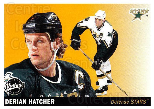 2002-03 UD Vintage #86 Derian Hatcher<br/>8 In Stock - $1.00 each - <a href=https://centericecollectibles.foxycart.com/cart?name=2002-03%20UD%20Vintage%20%2386%20Derian%20Hatcher...&quantity_max=8&price=$1.00&code=200016 class=foxycart> Buy it now! </a>