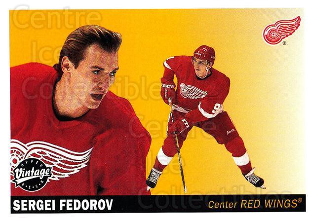 2002-03 UD Vintage #89 Sergei Fedorov<br/>13 In Stock - $2.00 each - <a href=https://centericecollectibles.foxycart.com/cart?name=2002-03%20UD%20Vintage%20%2389%20Sergei%20Fedorov...&quantity_max=13&price=$2.00&code=200018 class=foxycart> Buy it now! </a>