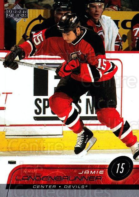 2002-03 Upper Deck #104 Jamie Langenbrunner<br/>4 In Stock - $1.00 each - <a href=https://centericecollectibles.foxycart.com/cart?name=2002-03%20Upper%20Deck%20%23104%20Jamie%20Langenbru...&quantity_max=4&price=$1.00&code=200036 class=foxycart> Buy it now! </a>
