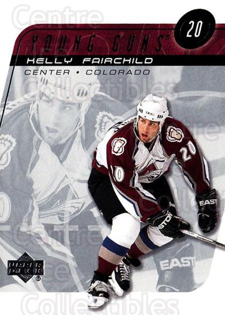 2002-03 Upper Deck #202 Kelly Fairchild<br/>11 In Stock - $3.00 each - <a href=https://centericecollectibles.foxycart.com/cart?name=2002-03%20Upper%20Deck%20%23202%20Kelly%20Fairchild...&quantity_max=11&price=$3.00&code=200121 class=foxycart> Buy it now! </a>