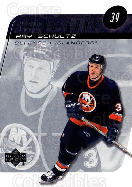 2002-03 Upper Deck #214 Ray Schultz<br/>17 In Stock - $3.00 each - <a href=https://centericecollectibles.foxycart.com/cart?name=2002-03%20Upper%20Deck%20%23214%20Ray%20Schultz...&quantity_max=17&price=$3.00&code=200129 class=foxycart> Buy it now! </a>