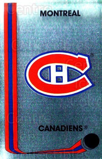 1989-90 Panini Stickers #233 Montreal Canadiens<br/>3 In Stock - $1.00 each - <a href=https://centericecollectibles.foxycart.com/cart?name=1989-90%20Panini%20Stickers%20%23233%20Montreal%20Canadi...&quantity_max=3&price=$1.00&code=20012 class=foxycart> Buy it now! </a>