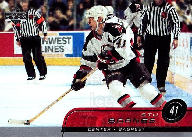 2002-03 Upper Deck #263 Stu Barnes<br/>7 In Stock - $1.00 each - <a href=https://centericecollectibles.foxycart.com/cart?name=2002-03%20Upper%20Deck%20%23263%20Stu%20Barnes...&quantity_max=7&price=$1.00&code=200158 class=foxycart> Buy it now! </a>