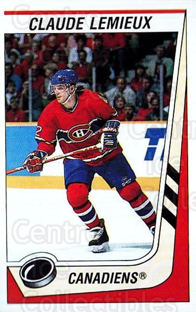 1989-90 Panini Stickers #240 Claude Lemieux<br/>3 In Stock - $1.00 each - <a href=https://centericecollectibles.foxycart.com/cart?name=1989-90%20Panini%20Stickers%20%23240%20Claude%20Lemieux...&quantity_max=3&price=$1.00&code=20019 class=foxycart> Buy it now! </a>