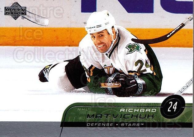 2002-03 Upper Deck #304 Richard Matvichuk<br/>4 In Stock - $1.00 each - <a href=https://centericecollectibles.foxycart.com/cart?name=2002-03%20Upper%20Deck%20%23304%20Richard%20Matvich...&quantity_max=4&price=$1.00&code=200202 class=foxycart> Buy it now! </a>