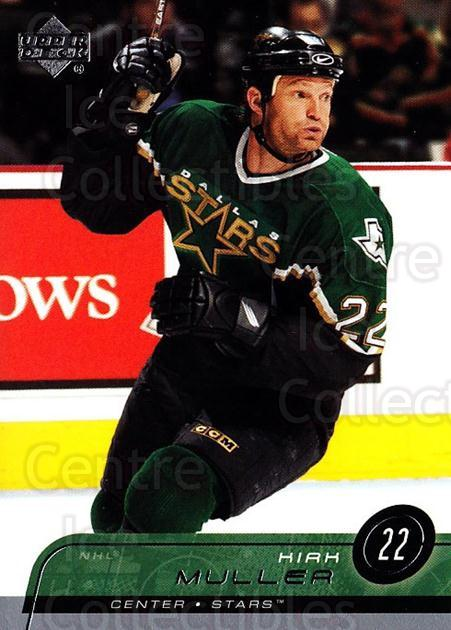 2002-03 Upper Deck #305 Kirk Muller<br/>5 In Stock - $1.00 each - <a href=https://centericecollectibles.foxycart.com/cart?name=2002-03%20Upper%20Deck%20%23305%20Kirk%20Muller...&quantity_max=5&price=$1.00&code=200203 class=foxycart> Buy it now! </a>