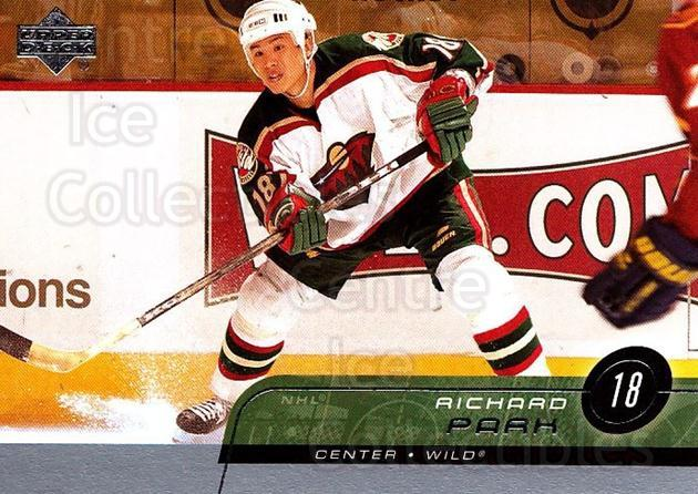 2002-03 Upper Deck #332 Richard Park<br/>4 In Stock - $1.00 each - <a href=https://centericecollectibles.foxycart.com/cart?name=2002-03%20Upper%20Deck%20%23332%20Richard%20Park...&price=$1.00&code=200230 class=foxycart> Buy it now! </a>
