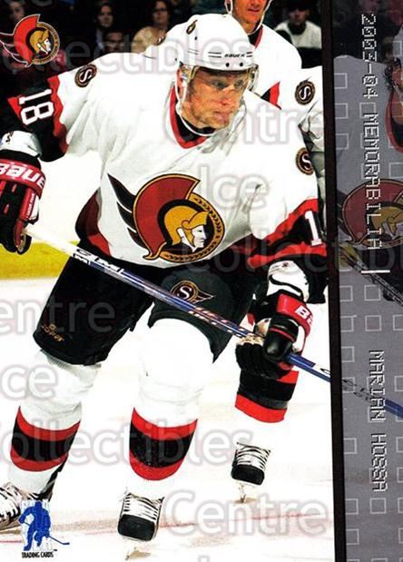 2003-04 BAP Memorabilia #47 Marian Hossa<br/>7 In Stock - $1.00 each - <a href=https://centericecollectibles.foxycart.com/cart?name=2003-04%20BAP%20Memorabilia%20%2347%20Marian%20Hossa...&quantity_max=7&price=$1.00&code=200423 class=foxycart> Buy it now! </a>
