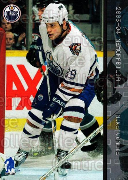 2003-04 BAP Memorabilia #55 Mike Comrie<br/>6 In Stock - $1.00 each - <a href=https://centericecollectibles.foxycart.com/cart?name=2003-04%20BAP%20Memorabilia%20%2355%20Mike%20Comrie...&quantity_max=6&price=$1.00&code=200431 class=foxycart> Buy it now! </a>