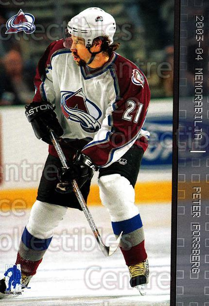 2003-04 BAP Memorabilia #72 Peter Forsberg<br/>2 In Stock - $2.00 each - <a href=https://centericecollectibles.foxycart.com/cart?name=2003-04%20BAP%20Memorabilia%20%2372%20Peter%20Forsberg...&quantity_max=2&price=$2.00&code=200449 class=foxycart> Buy it now! </a>