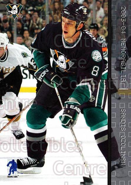 2003-04 BAP Memorabilia #81 Sandis Ozolinsh<br/>7 In Stock - $1.00 each - <a href=https://centericecollectibles.foxycart.com/cart?name=2003-04%20BAP%20Memorabilia%20%2381%20Sandis%20Ozolinsh...&quantity_max=7&price=$1.00&code=200459 class=foxycart> Buy it now! </a>