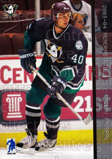 2003-04 BAP Memorabilia #96 Vaclav Prospal<br/>6 In Stock - $1.00 each - <a href=https://centericecollectibles.foxycart.com/cart?name=2003-04%20BAP%20Memorabilia%20%2396%20Vaclav%20Prospal...&quantity_max=6&price=$1.00&code=200474 class=foxycart> Buy it now! </a>