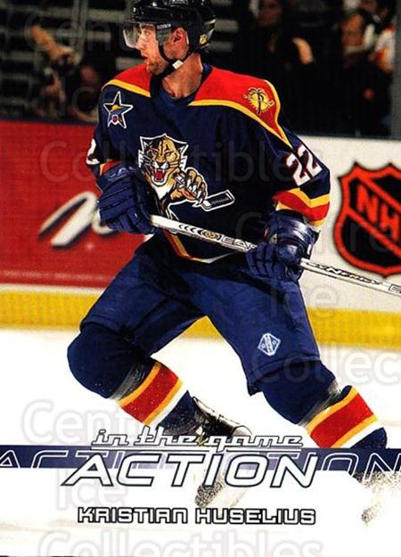 2003-04 ITG Action #281 Kristian Huselius<br/>4 In Stock - $1.00 each - <a href=https://centericecollectibles.foxycart.com/cart?name=2003-04%20ITG%20Action%20%23281%20Kristian%20Huseli...&quantity_max=4&price=$1.00&code=200575 class=foxycart> Buy it now! </a>