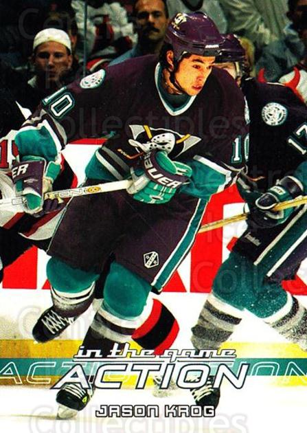 2003-04 ITG Action #39 Jason Krog<br/>1 In Stock - $1.00 each - <a href=https://centericecollectibles.foxycart.com/cart?name=2003-04%20ITG%20Action%20%2339%20Jason%20Krog...&quantity_max=1&price=$1.00&code=200671 class=foxycart> Buy it now! </a>