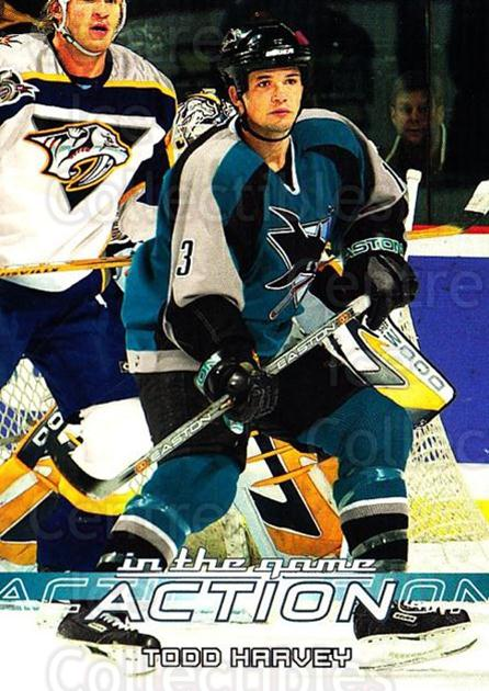 2003-04 ITG Action #421 Todd Harvey<br/>5 In Stock - $1.00 each - <a href=https://centericecollectibles.foxycart.com/cart?name=2003-04%20ITG%20Action%20%23421%20Todd%20Harvey...&quantity_max=5&price=$1.00&code=200705 class=foxycart> Buy it now! </a>
