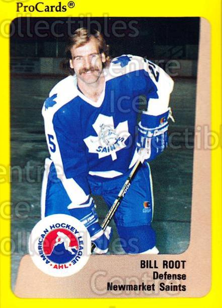 1989-90 ProCards AHL #112 Bill Root<br/>6 In Stock - $2.00 each - <a href=https://centericecollectibles.foxycart.com/cart?name=1989-90%20ProCards%20AHL%20%23112%20Bill%20Root...&quantity_max=6&price=$2.00&code=20073 class=foxycart> Buy it now! </a>